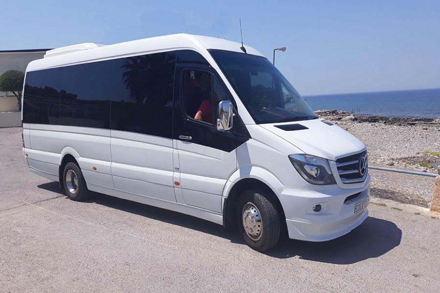 Rhodes Mini Bus Transfers